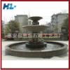 生产销售精美喷水池花岗岩石雕喷水池